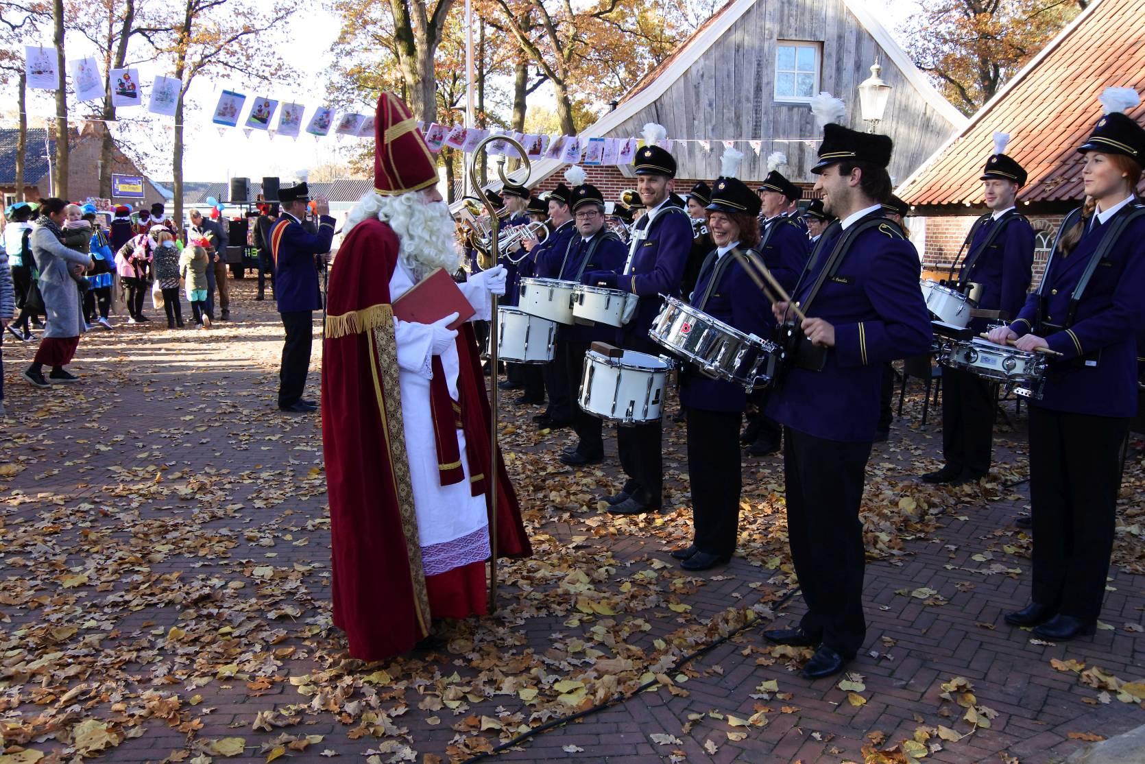 Intocht Sinterklaas Geesteren 2018
